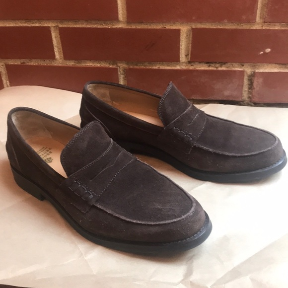 62f379634db Brooks Brothers Other - Brooks Brothers Suede Penny Loafer